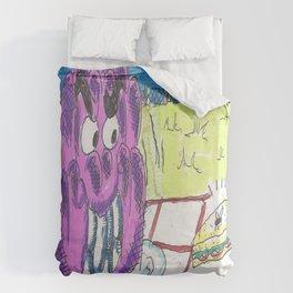 The Jelly Monster! Duvet Cover