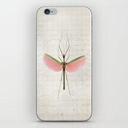 Pink Walking Stick iPhone Skin