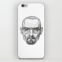 heisenberg iPhone & iPod Skins featuring Heisenberg by Christina Patti