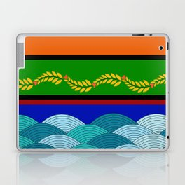 line and wave Laptop & iPad Skin