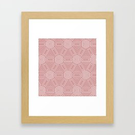 Op Art 23 Framed Art Print