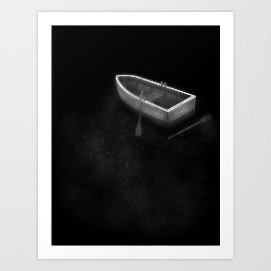Annan Water Art Print