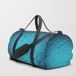 Stylish Cool Blue water drops Duffle Bag