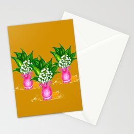 May Lily Painting Stationery Cards