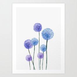 Dandelion Art Print