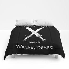 Thorin Oakenshield : Loyalty  -white- Comforters