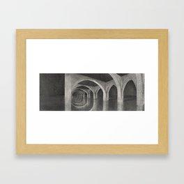 Roman Cavern Framed Art Print