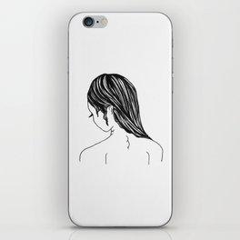 Demure Dame iPhone Skin