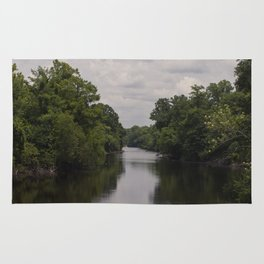 Slow Jungle River Down South Rug