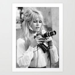 Brigitte Bardot Poster Art Print