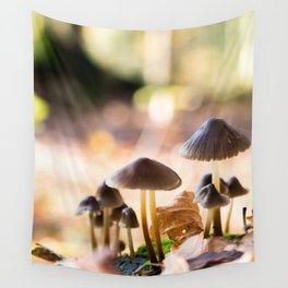 Group of mushrooms Wall Tapestry