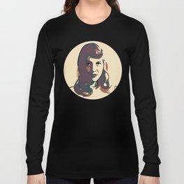 Sylvia Plath Long Sleeve T-shirt