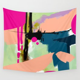 abstract color play Wall Tapestry