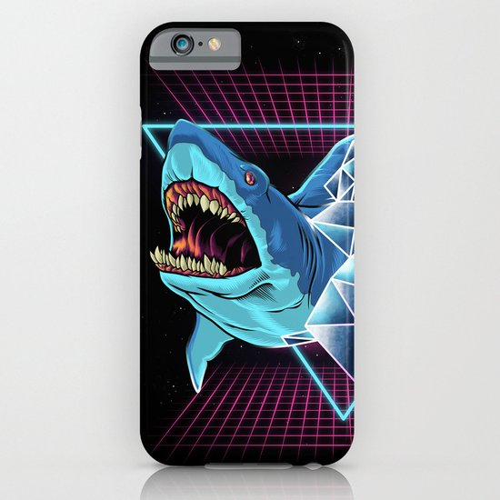 shark iphone case shark 80s iphone amp ipod by angoes25 society6 12959