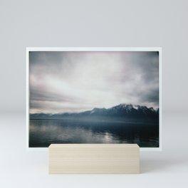 Brume sur Montreux Mini Art Print