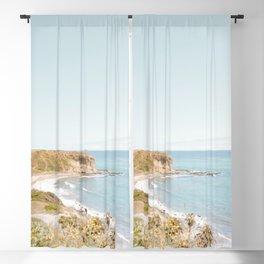 Travel photography Palos Verdes Ocean Cliffs Seascape Landscape VI Blackout Curtain