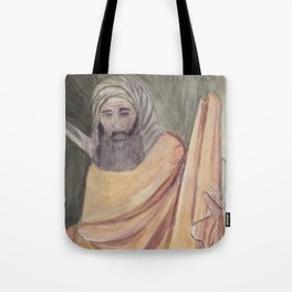 Reproduction of a Section of The Trial By Fire Fresco by Giotto Tote Bag