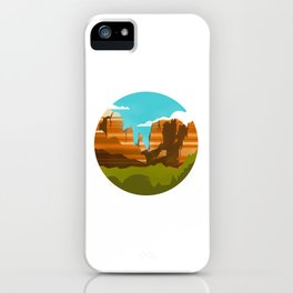 Canyons iPhone Case