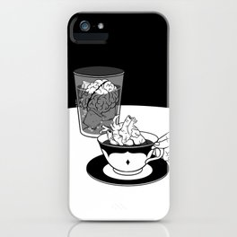 Cold Head, Warm Heart iPhone Case
