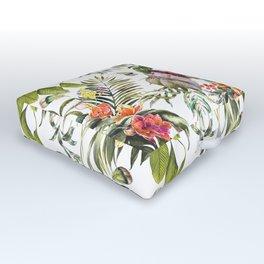 Jungle botanical boho Outdoor Floor Cushion