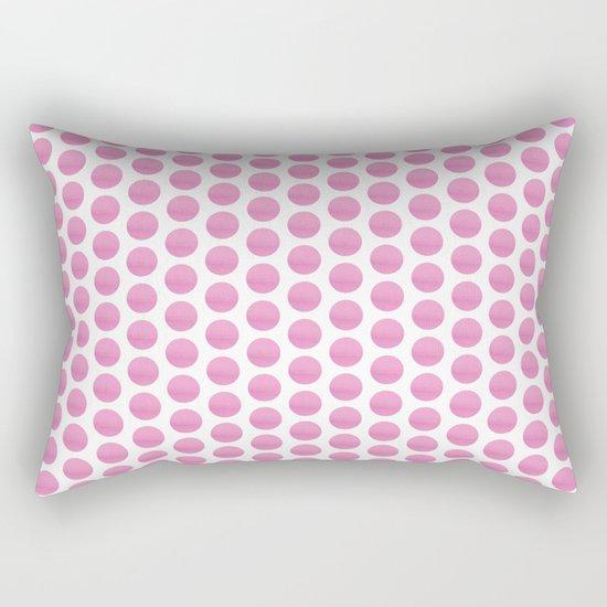 Pink spots  Rectangular Pillow