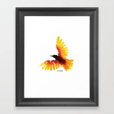 Hope bird. Framed Art Print