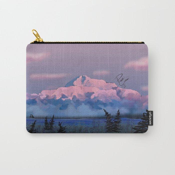 Mt McKinley / Alaska Art / Digital Carry-All Pouch
