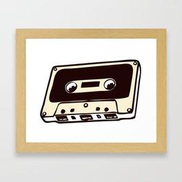 cassete tape 5 Framed Art Print