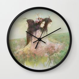 peaseblossom Wall Clock