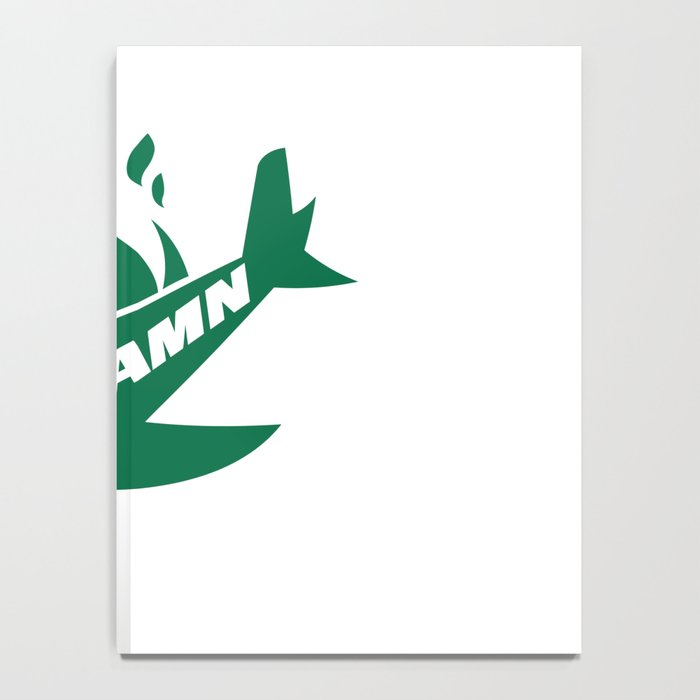Jets God Dam Funny New York Football Notebook
