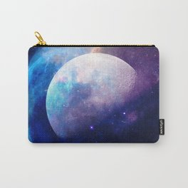 Galaxy Moon Space Carry-All Pouch