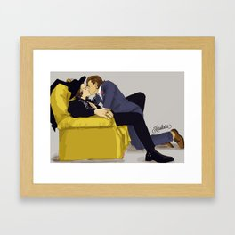 """ Jay's wedding, Our honeymoon "" Framed Art Print"