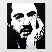 robert downey jr Canvas Prints featuring Robert Downey Jr by Olivia Iman