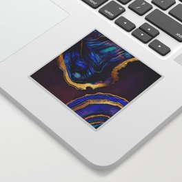 Agate Abstract Sticker