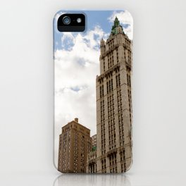 Over New York City iPhone Case