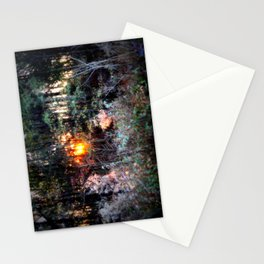 Sunset Forest : Where The Fairies Dwell Stationery Cards