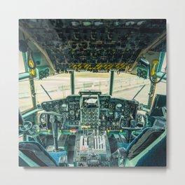 Flight Deck Metal Print