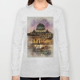 The City of Rome Long Sleeve T-shirt