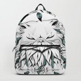 Poetic Persian Cat Backpack