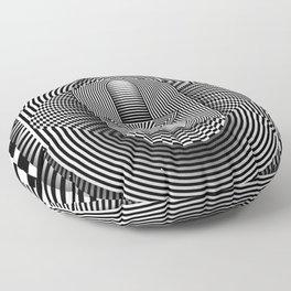The eye of Ra Floor Pillow