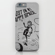 Lost In My Happy Space, grey Slim Case iPhone 6s