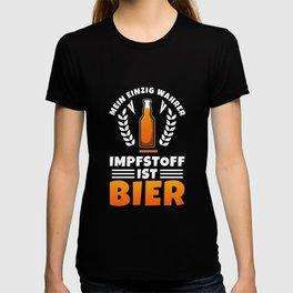 Vaccine beer T-shirt