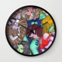 DD Girls Wall Clock