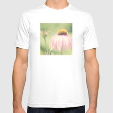 Little Honey Bee Mens Fitted Tee MEDIUM White