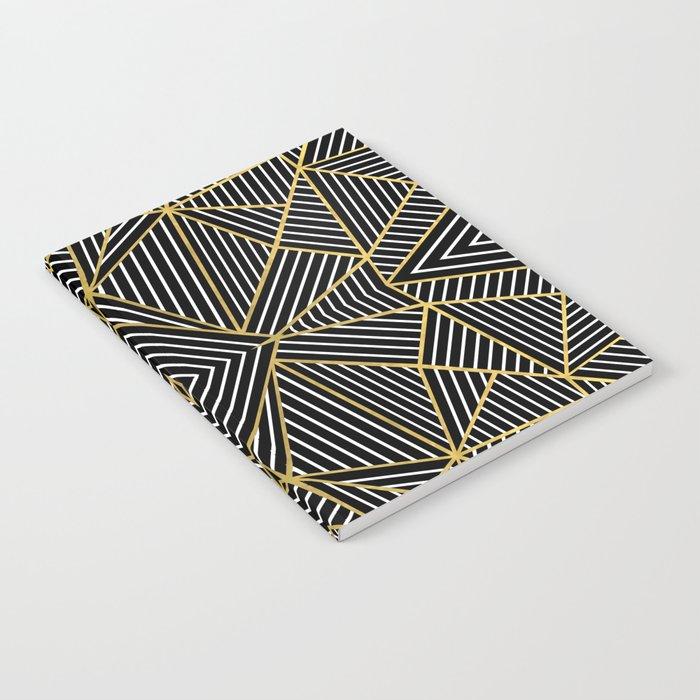 Ab Half Gold Notebook