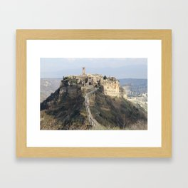 Expiring City Framed Art Print
