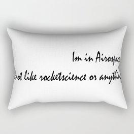 rocket science  Rectangular Pillow