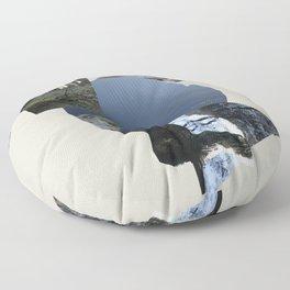 Vinnesvatnet (Lake Vinnes) Floor Pillow