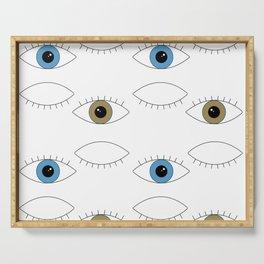 eyes Serving Tray