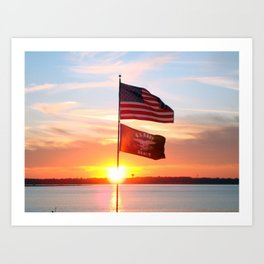 Day is Done.. Art Print